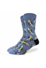 GOOD LUCK Good Luck Sock 1415 Bees 7-12