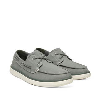Timberland Men's Boat Shoe  Canvas 0A1YZGC24