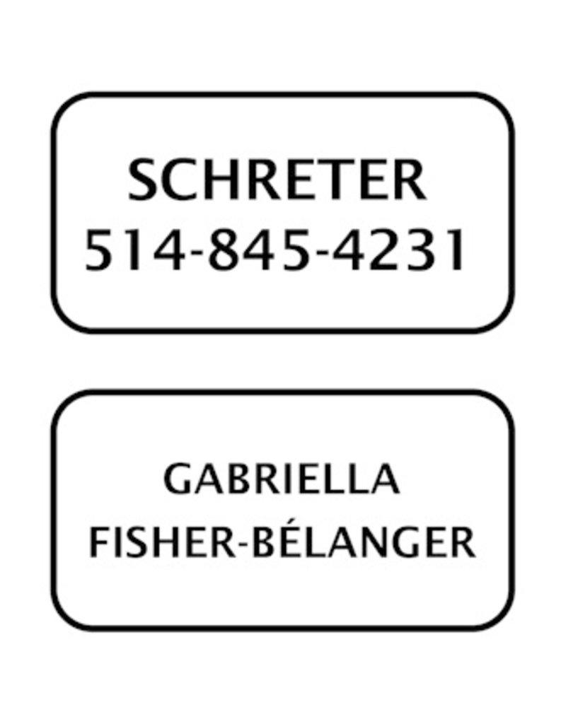 Étiquettes Autocollantes