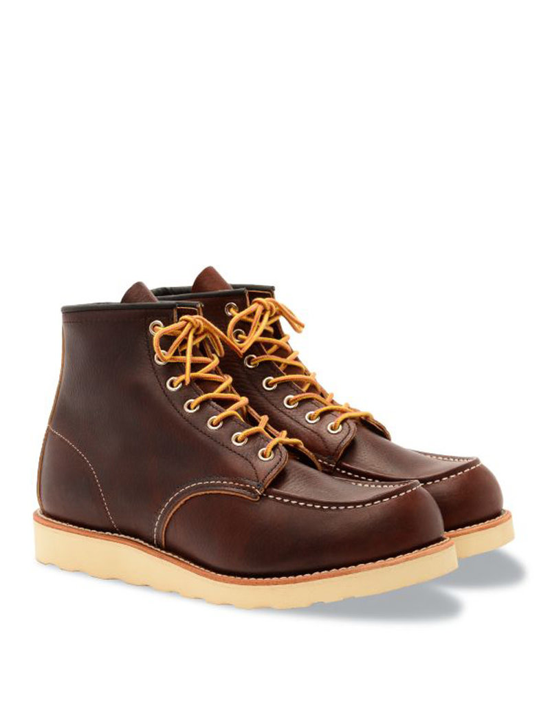 "RED WING RED WING SHOES HOMMES 6 "" MOC TOE 8138"