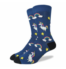 GOOD LUCK Good Luck Sock 1289 Unicorns 7-12