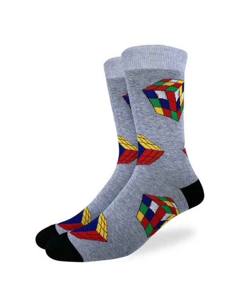 GOOD LUCK Good Luck Sock 1478 Rubik's Cube 7-12