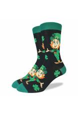 GOOD LUCK Good Luck Sock 1298 Leprechaun 7-12