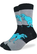 GOOD LUCK Good Luck Sock 1199 Noir et Gris T-REX 7-12