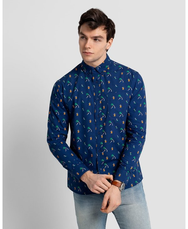 Poplin and Co. Men's Shirt POSLS-01-ALO