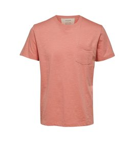 SELECTED Selected Men's Slub O-Neck 16072693