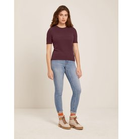 Frank And Oak Frank And Oak Femmes Soft Rib Tee 2120195