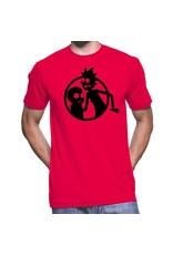 JOAT Rick And Morty Silhouette Circle Hommes RM0155-T1031C