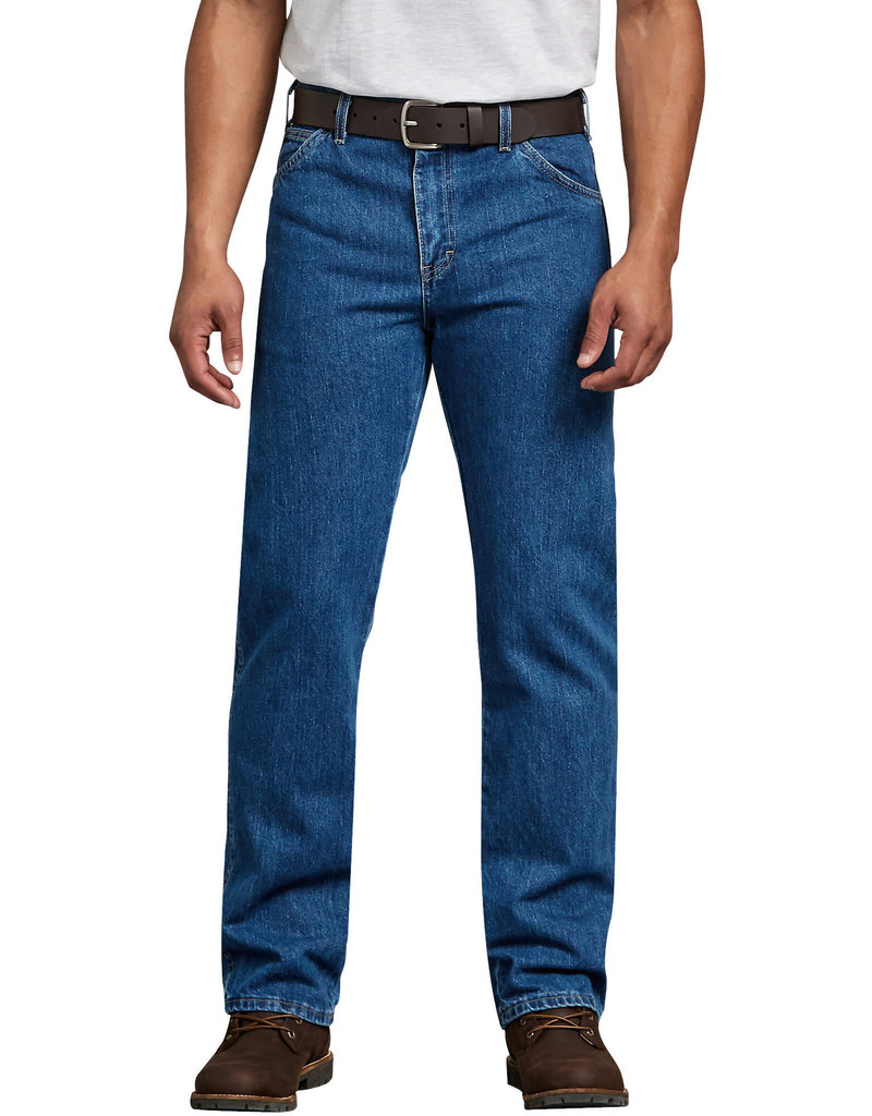 DICKIES Dickies Men's 5-Pocket Regular Fit Straight 14293SNB