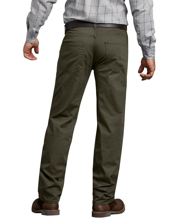 Dickies Men's 5-Pocket Regular Fit Straight XD831RMS