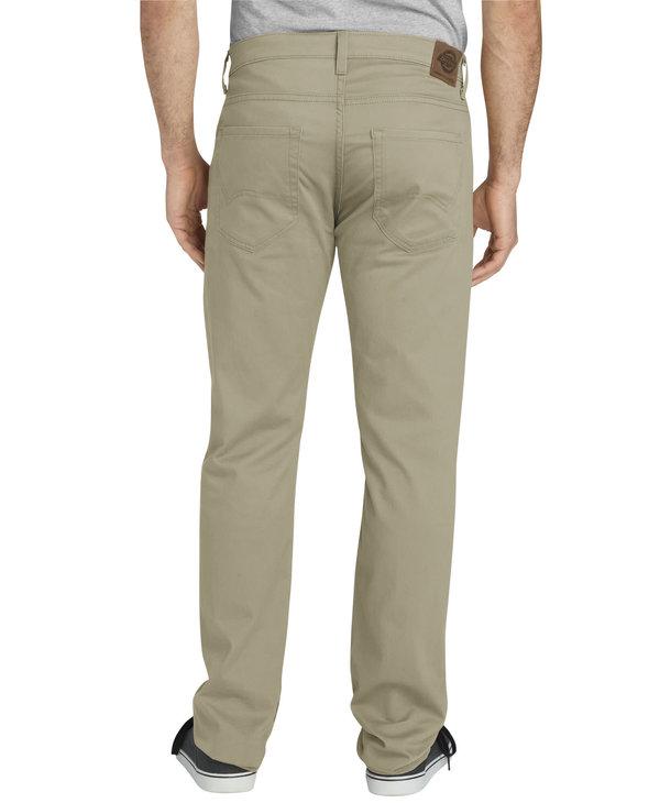 Dickies Men's 5-Pocket Slim Fit Tapered XD824RDS
