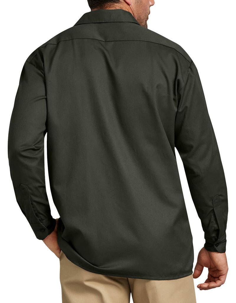 DICKIES Dickies Men's Twill Work Shirt 574OG