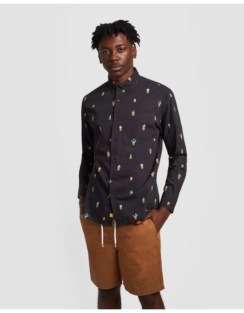 Poplin And Co. Poplin and Co. Hommes Chemise POSLS-01-CAC