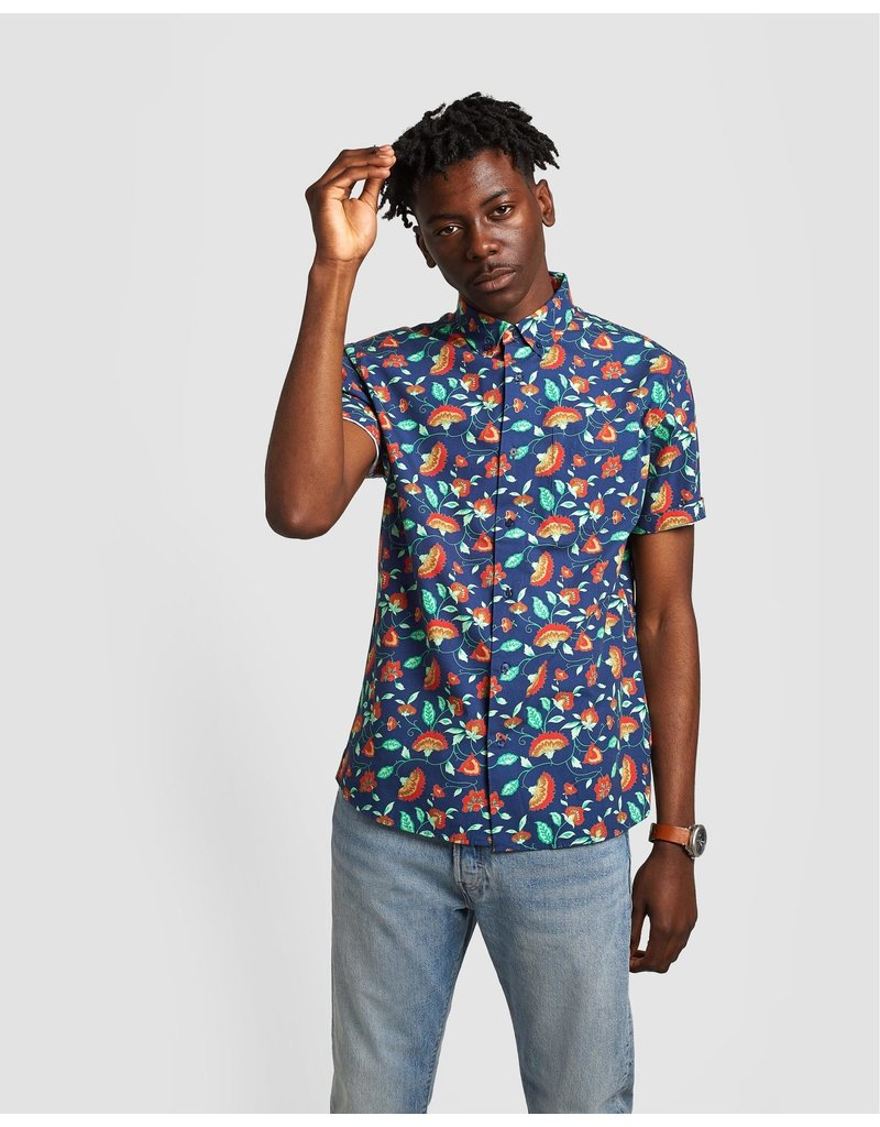 Poplin And Co. Poplin and Co. Hommes Chemise POSSS-01-VFL