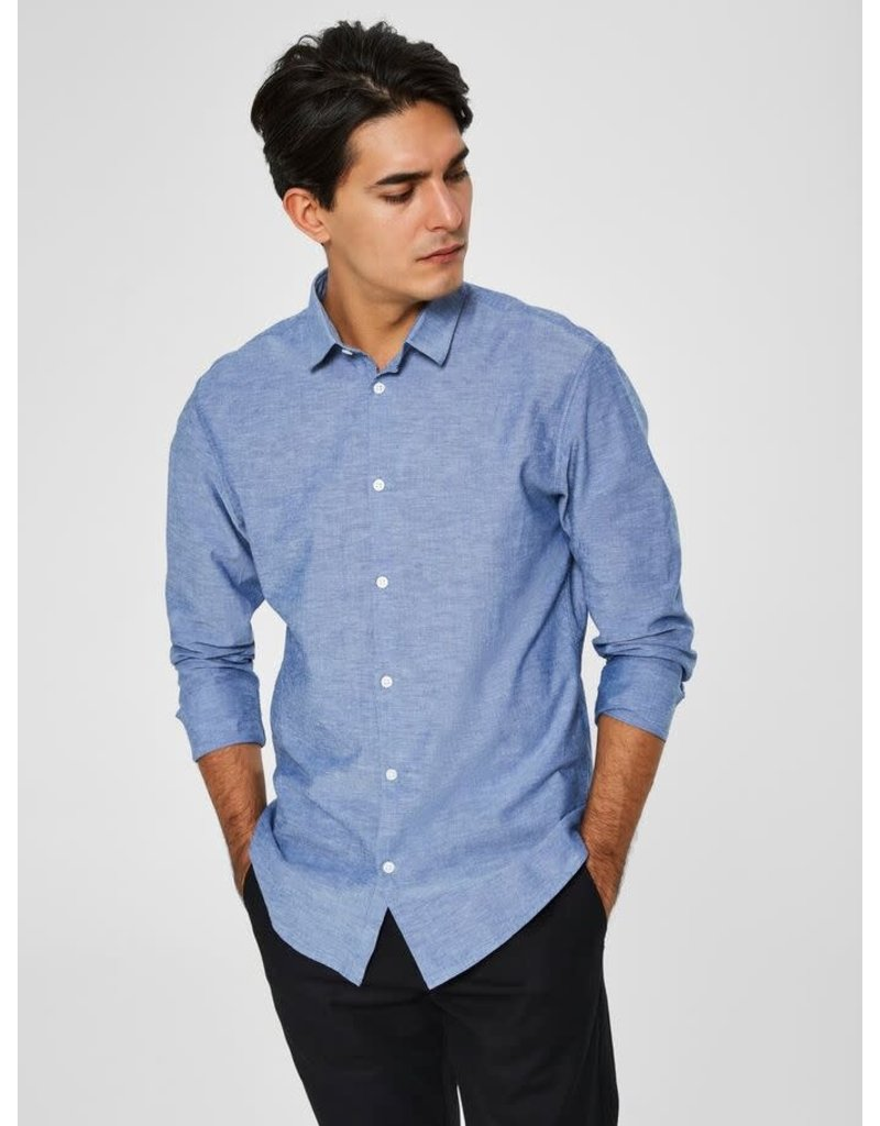 SELECTED Selected Men's Slim Linen 16065883