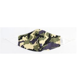 Fashion Masks Green Camo Cotton/Viscose