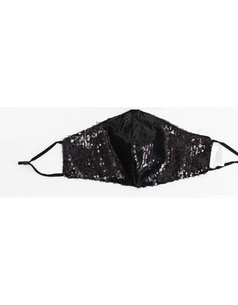 Fashion Masques Sequence Noir Coton/Poly