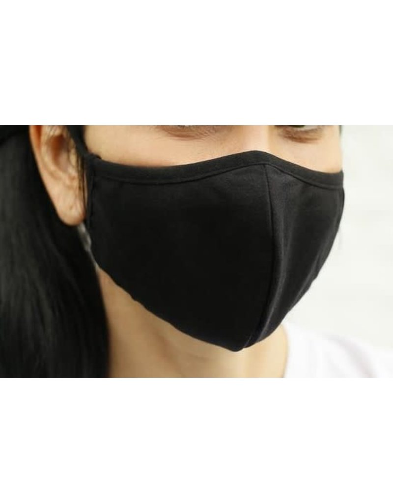 Fashion Masks Black Cotton