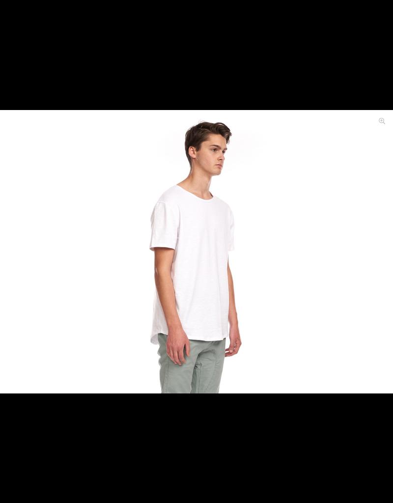 KUWALLA Kuwalla Hommes Slub Hi Lo T-Shirt KUL-SHL1385