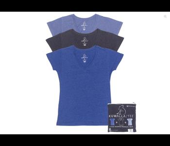 Kuwalla Women's 3 Scoop Neck T-Shirt KUL-LCB80
