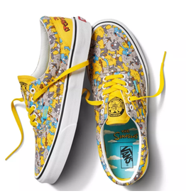VANS THE SIMPSONS X VANS - ERA ITCHY & SCRATCHY