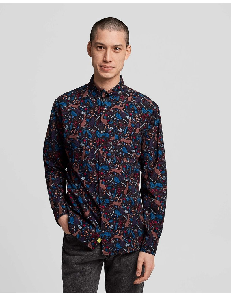 Poplin And Co. Poplin and Co. Men's Shirt POSLS-01-HAR