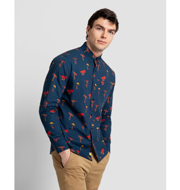 Poplin And Co. Poplin and Co. Hommes Chemise  POSLS-01-MUS