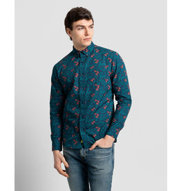 Poplin And Co. Poplin and Co. Men's Shirt POSLS-01-OLI