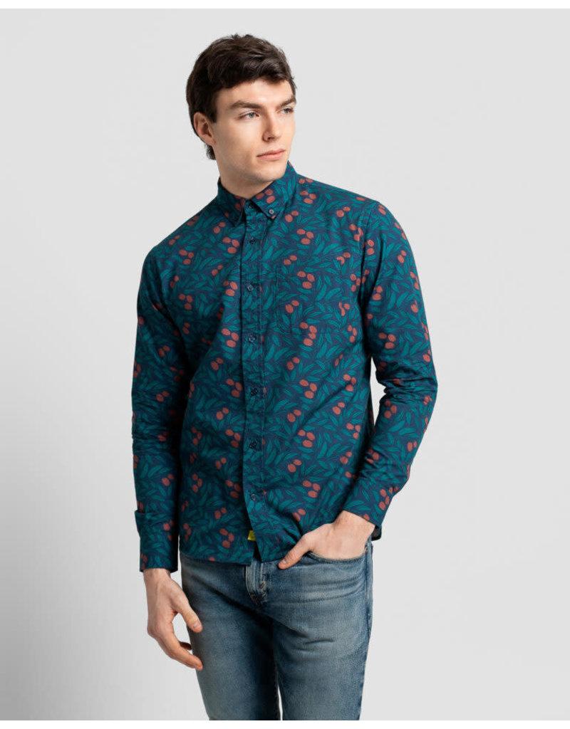 Poplin And Co. Poplin and Co. Men's Shirt POSLS-01-OLI