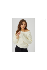 KUWALLA Kuwalla Femmes Off Shoulder Knit WKUL-OFF429