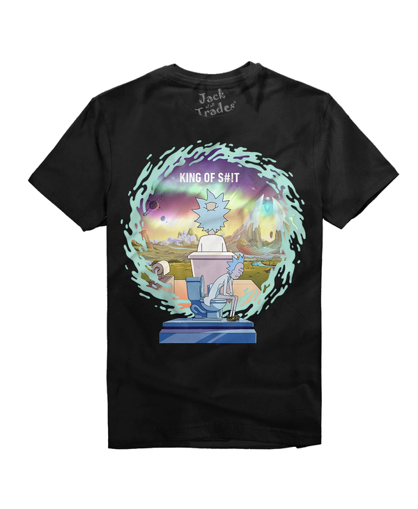 Rick And Morty King Of Sh*T T RM0189-T1031C