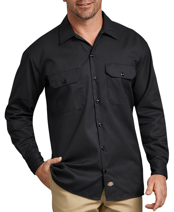 Dickies Men's Twill Work Shirt 574BK