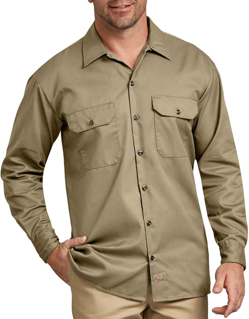 DICKIES Dickies Men's Twill Work Shirt 574KH