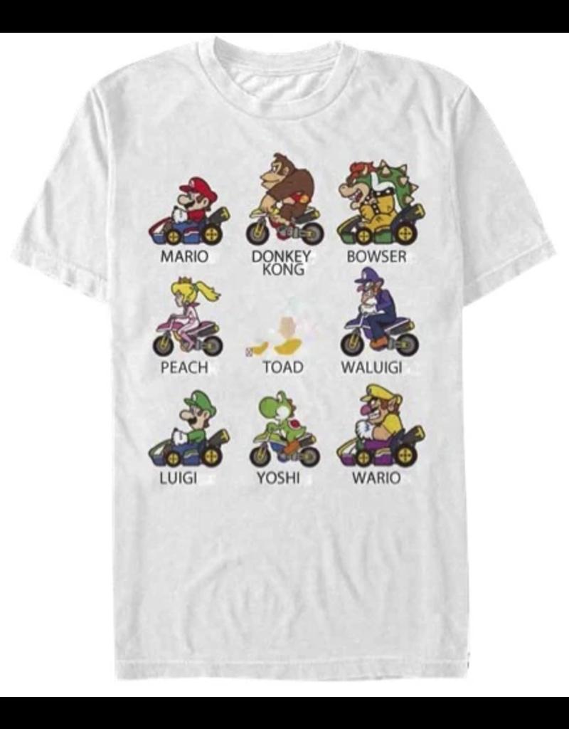 JOAT Mario Cart Characters 15NNTD480-WHT