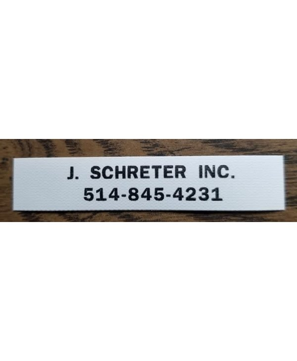 Name Tags - 2 Lines