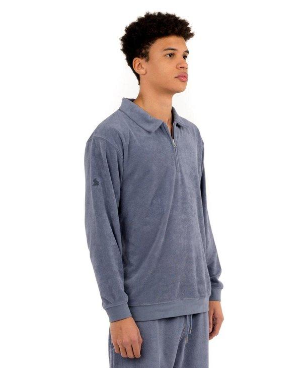 Kuwalla Men's Terry Cloth Polo KUL-LBP009