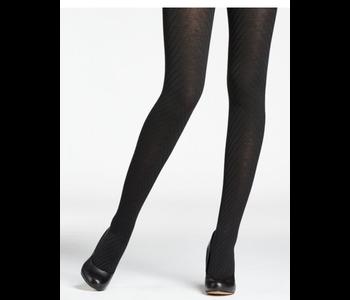 Mondor Women's 5389 Merino Wool Tights - Herringbone Pattern