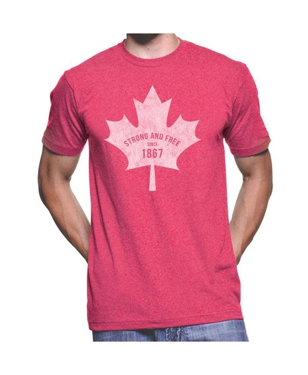 Canadian Strong And Free VE0547-T1031H