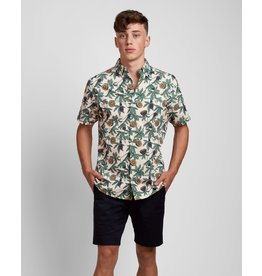 Poplin And Co. Poplin and Co. Men's Shirt POSSS-01-PAS