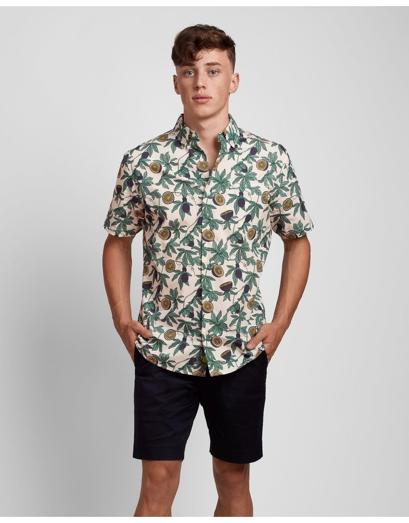 Poplin And Co. Poplin and Co. Men's Shirt POSSS-01-PAS