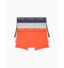 CALVIN KLEIN Calvin Klein Hommes 3Pr Coton Classic Trunk Calecon NB4002G