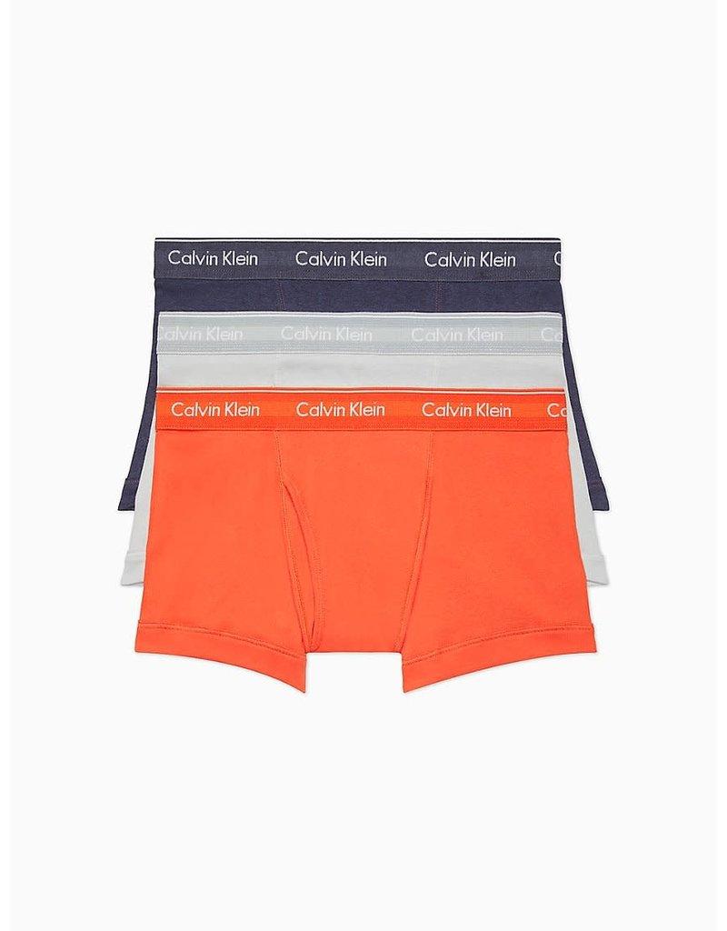 CALVIN KLEIN Calvin Klein Men's 3Pr Coton Classic Trunk NB4002G