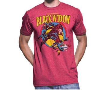 Retro Black Widow T-Shirt MV1099-T1031H