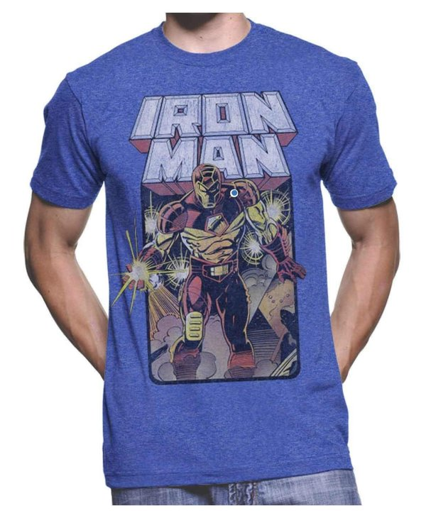 Iron Man Crash & Burn MV1022-T1031H