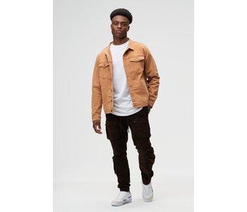 Kuwalla Hommes Veste en Jean en Tricot KUL-DJ2722