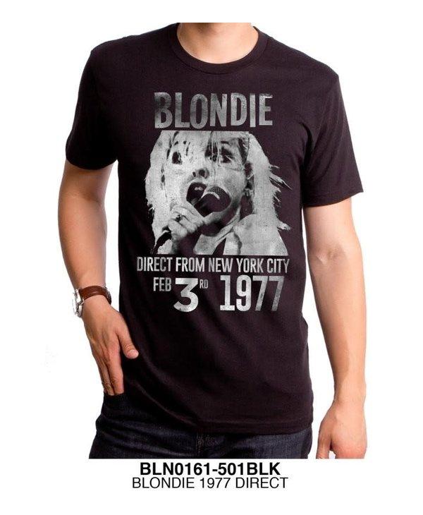 Blondie - 1977 Direct T-Shirt- BLN0161