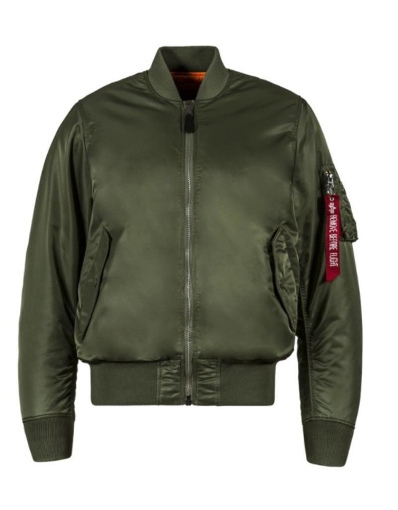 ALPHA INDUSTRIES Alpha Industries Men's  Slim Flit Flight Jacket Ma-1 Mjm44530C2