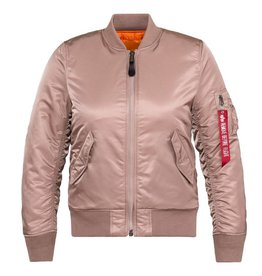 ALPHA INDUSTRIES Alpha Women's Industries MA-1 Flight Jacket  WJM44500C1