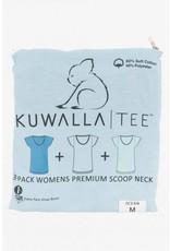 KUWALLA KUWALLA WOMEN'S 3 PACK SS T-SHIRT KUL-WOC1602