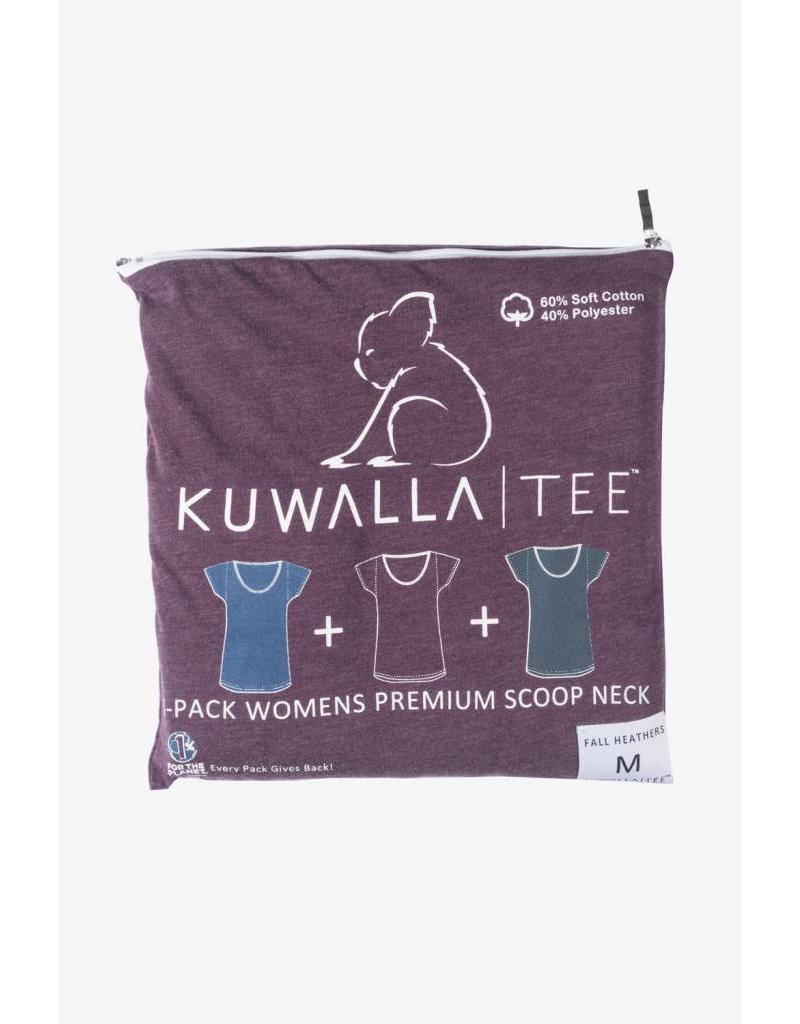 KUWALLA KUWALLA WOMEN'S 3 PACK SS T-SHIRT KUL-WHC116